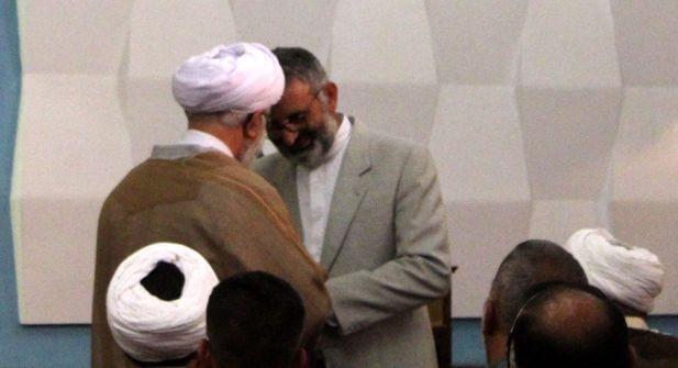 Dr. Yavuz verabschiedet Ayatullah Ramezani