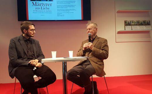Prof. Pietsch und ich über Martyrer